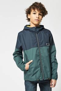 America Today Junior  zomerjas Jagger donkerblauw/groen, Donkerblauw/groen