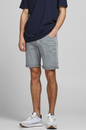 slim fit jeans short Rick grijs