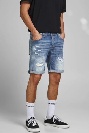 regular fit jeans short Rick Fox stonewashed