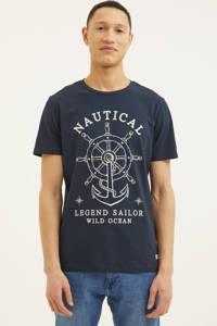PRODUKT T-shirt (set van 2) lichtblauw/donkerblauw, Lichtblauw/donkerblauw