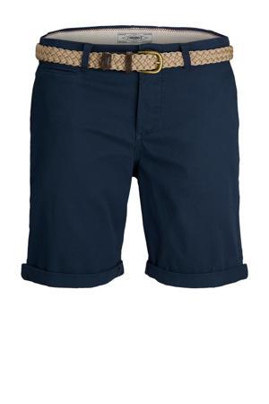 regular fit bermuda James donkerblauw