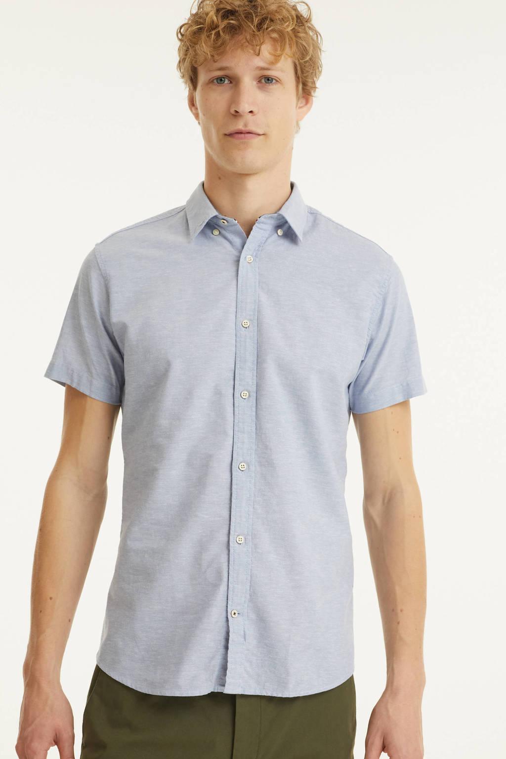 PRODUKT regular fit overhemd Clark lichtblauw, Lichtblauw