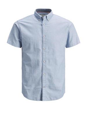 regular fit overhemd Clark lichtblauw