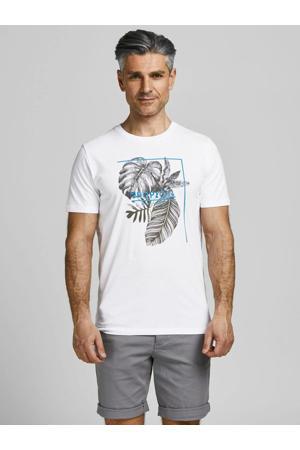 T-shirt SILAS van biologisch katoen wit