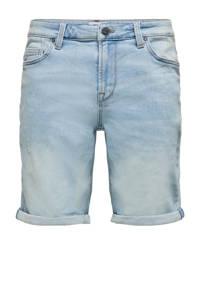 ONLY & SONS regular fit jeans short light denim, Light denim