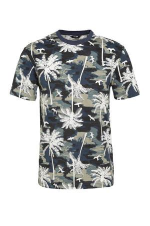 T-shirt Kante van biologisch katoen donkerblauw