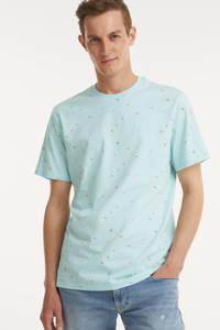 ONLY & SONS T-shirt Paxon van biologisch katoen lichtblauw, Lichtblauw