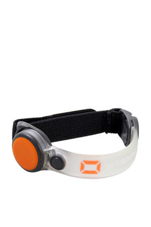 led sportarmband zwart