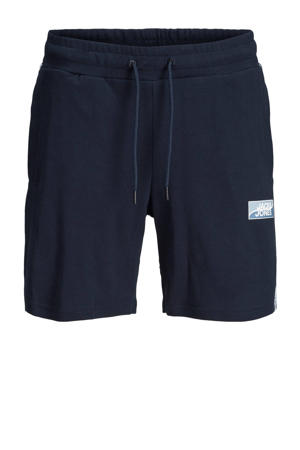 regular fit sweatshort Plus Size navy blazer