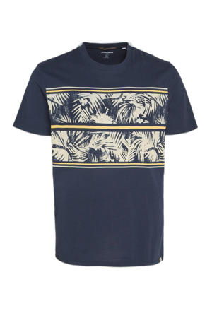 T-shirt Sunnys Plus Size met printopdruk navy blazer