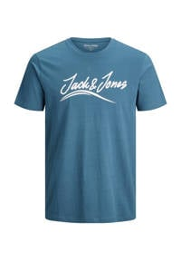 JACK & JONES PLUS SIZE T-shirt Flexer Plus Size met logo ensign blue, Ensign blue