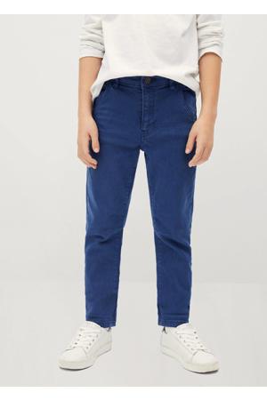 slim fit jeans hardblauw