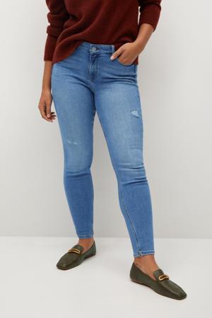 low waist super skinny jeans Andrea light blue