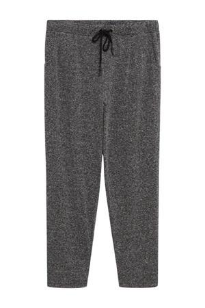 slim fit pantalon grijs