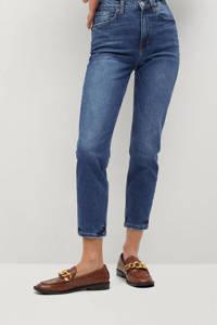 Mango high waist mom jeans dark denim, Dark denim