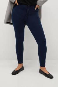 Violeta by Mango high waist super skinny jegging Tania dark blue, Dark Blue