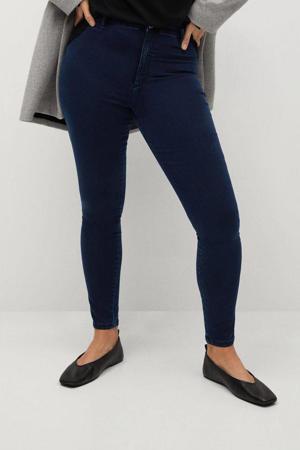 high waist super skinny jegging Tania dark blue