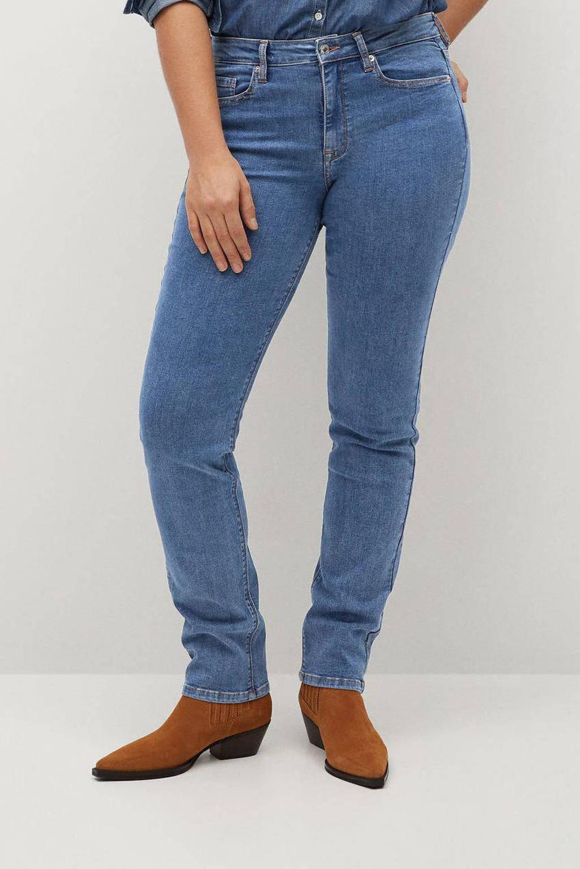 Violeta by Mango slim fit jeans Susan blue