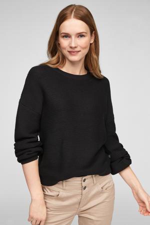 gebreide trui zwart