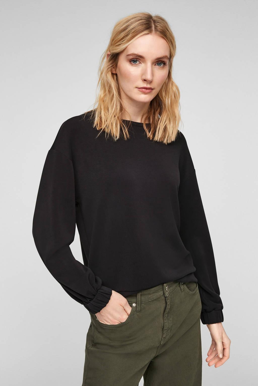 s.Oliver sweater zwart, Zwart