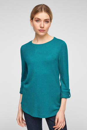 longsleeve turquoise