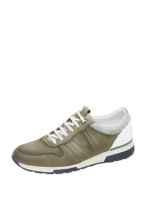 Positano  nubuck sneakers groen
