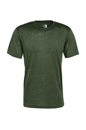 outdoor T-shirt Fingal donkergroen