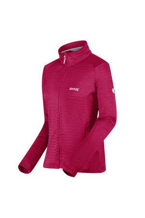 outdoor vest Highton Lite donkerroze