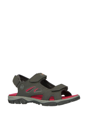 Holcombe Vent  outdoor sandalen antraciet/fuchsia