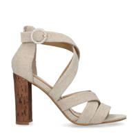 Manfield   sandalettes lichtbeige, Beige