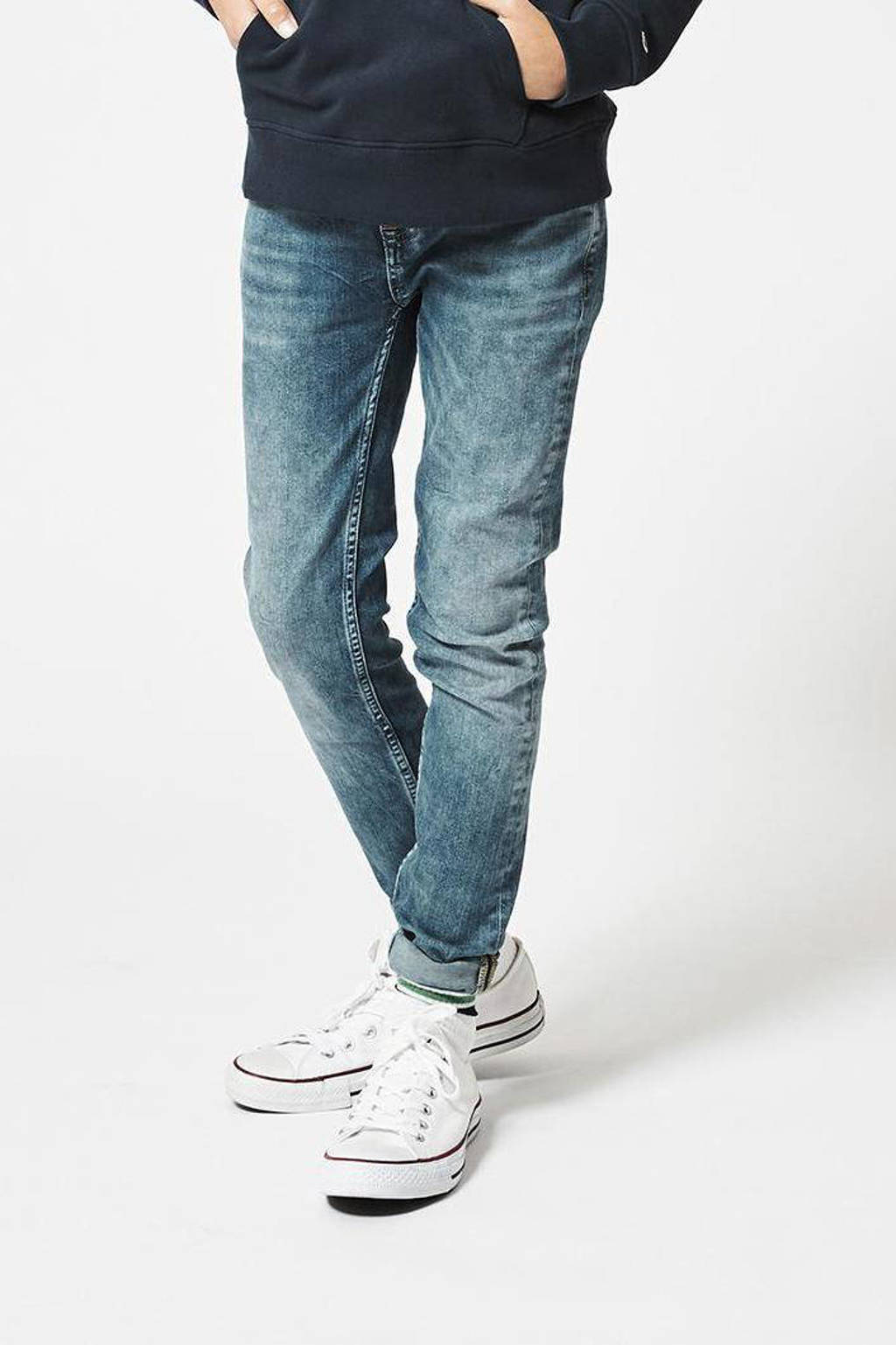 America Today Junior skinny jeans Keanu Jr. washed blue wash, Washed blue wash