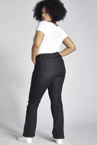 Ulla Popken high waist bootcut jeans Marie dark denim, Dark denim