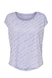 Only Play Curvy Plus Size sport T-shirt Ara lila, Lila