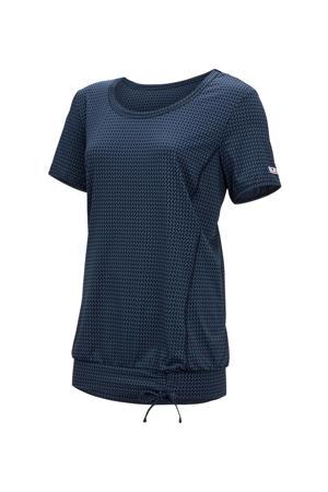 Plus Size sport T-shirt Balana donkerblauw