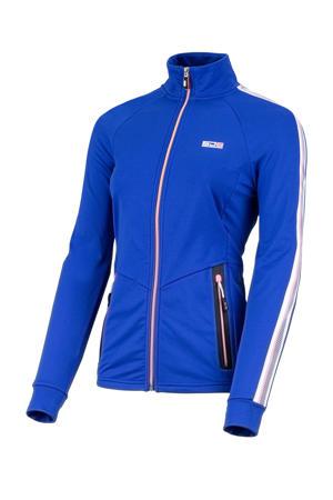 Plus Size sportvest Urzula kobaltblauw