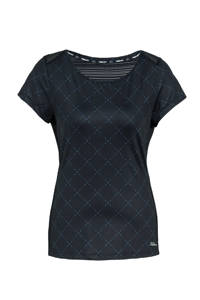 Falcon sport T-shirt Diana donkerblauw, Donkerblauw