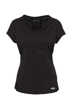 sport T-shirt Ivy zwart