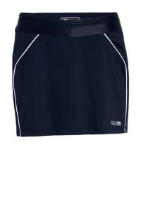 Sjeng Sports sportrokje Wylda donkerblauw/wit, Donkerblauw/wit