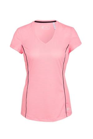 sport T-shirt Annika roze