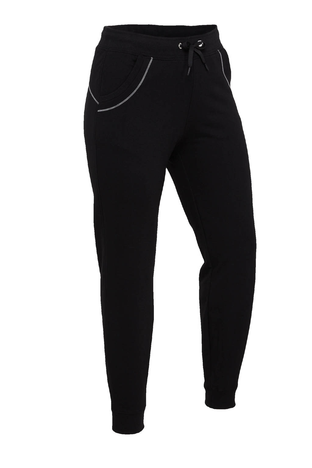 Sjeng Sports Plus Size trainingsbroek Love zwart, Zwart
