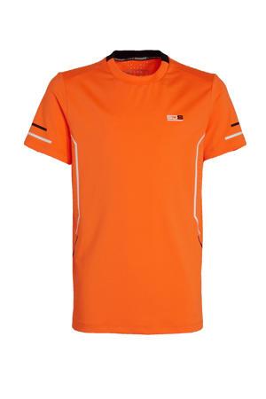 sport T-shirt oranje