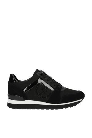 Billie Trainer  suède sneakers zwart
