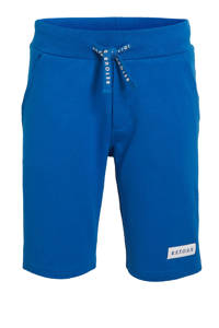 Retour Denim regular fit sweatshort Abel blauw, Blauw
