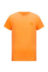 Retour Denim basic T-shirt Corneel neon oranje, Neon oranje