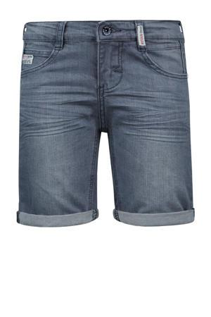slim fit jeans bermuda Elan light grey denim