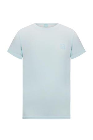 basic T-shirt Corneel zacht mintgroen