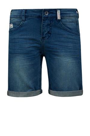slim fit jeans bermuda Elan medium blue denim