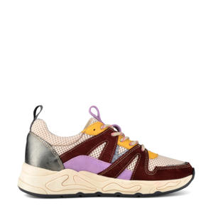 Minion  suède sneakers bordeaux/multi