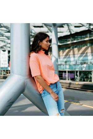 T-shirt Hamira peach glow