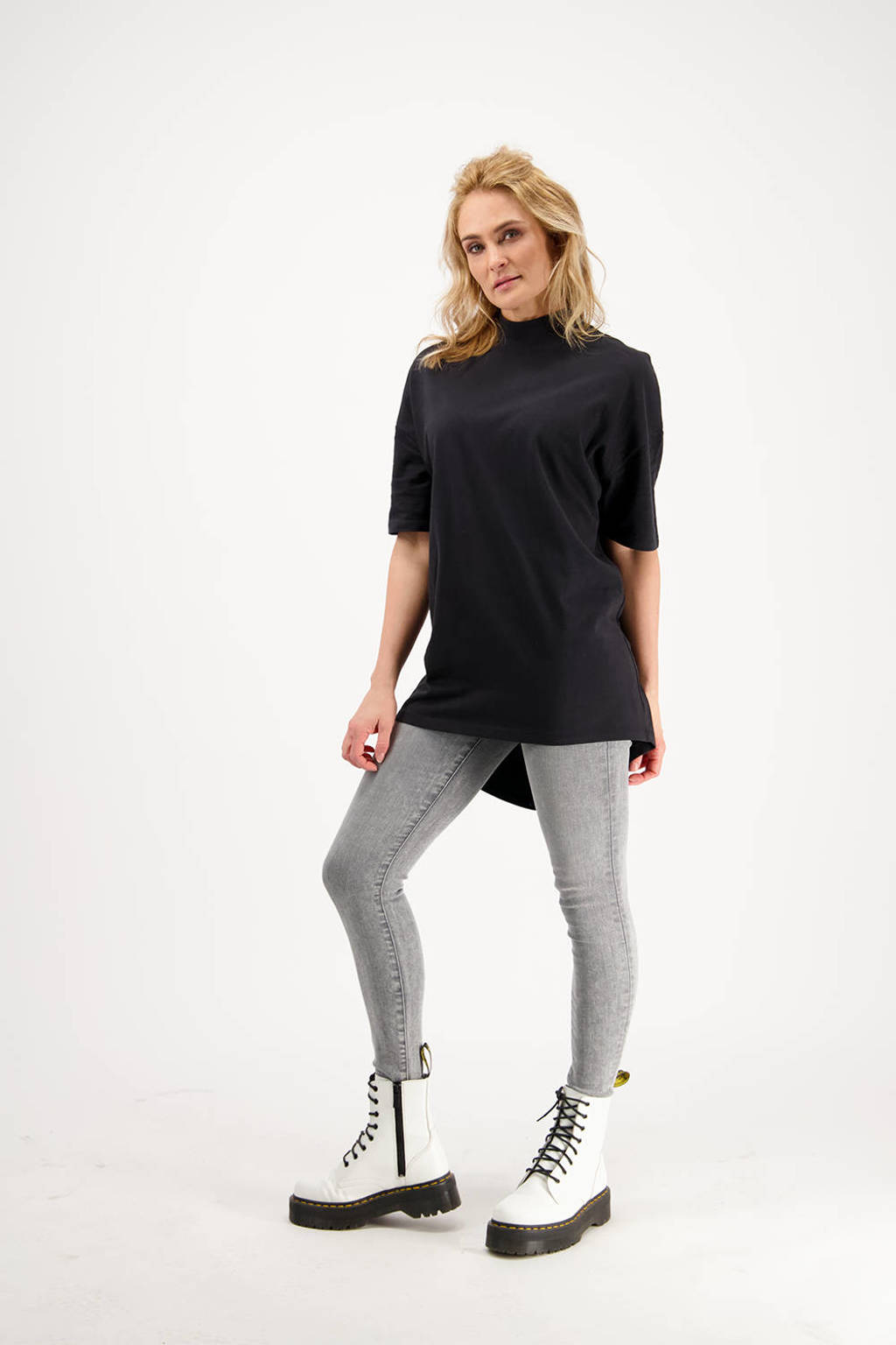 Raizzed skinny jeans Blossom light grey stone, Light Grey Stone